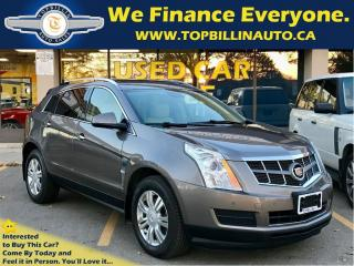 Used 2011 Cadillac SRX Luxury Collection, Pano Roof, Leather for sale in Concord, ON