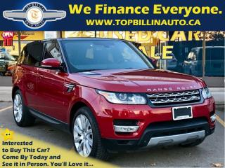 Used 2014 Land Rover Range Rover Sport V6, FULLY LOADED for sale in Concord, ON