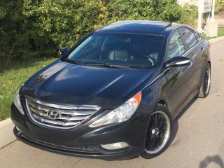 Used 2012 Hyundai Sonata Limited LEATHER/PANO ROOF! for sale in Mississauga, ON