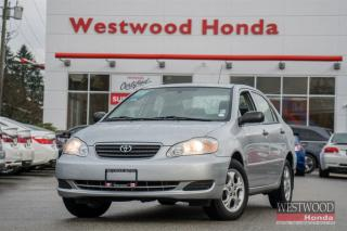 Used 2008 Toyota Corolla CE for sale in Port Moody, BC