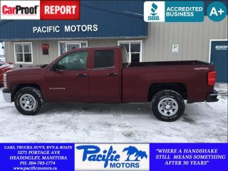 Used 2014 Chevrolet Silverado 1500 1WT*XM*Just $166.56bw oac! for sale in Headingley, MB