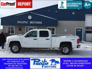 Used 2010 Chevrolet Silverado 2500HD LT for sale in Headingley, MB