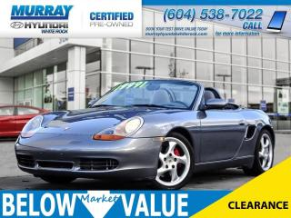 Used 2002 Porsche Boxster S**Leather**Heated Seats** for sale in Surrey, BC