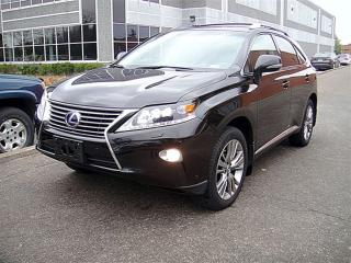 Used 2013 Lexus RX 450h NAVI,HUD,BSM,HYBRID for sale in Aurora, ON