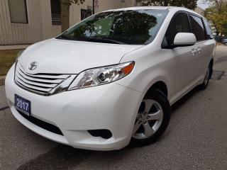 Used 2017 Toyota Sienna LE 8 Passenger-LIKE new-pristine for sale in Mississauga, ON