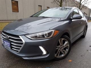 Used 2017 Hyundai Elantra GLS-Dark grey-pristine condition for sale in Mississauga, ON
