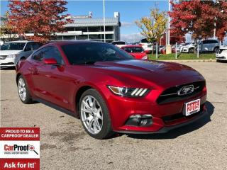 Used 2015 Ford Mustang EcoBoost Premium**NAVIGATION** for sale in Mississauga, ON