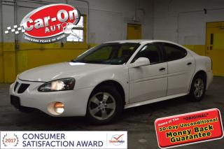 Used 2006 Pontiac Grand Prix A/C FULL PWR GRP ALLOYS REMOTE START for sale in Ottawa, ON