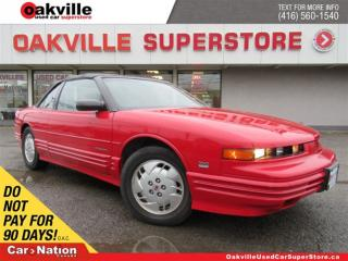 Used 1993 Oldsmobile Cutlass Supreme Convertible | LEATHER | SOFT TOP | POWER OPTIONS for sale in Oakville, ON