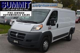 Used 2015 RAM 1500 ProMaster Low Roof 136 BACKUP CAMERA, BLUETOOTH for sale in Richmond Hill, ON