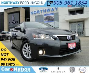 Used 2011 Lexus CT 200h HYBRID | HEATED LEATHER | SPORT MODE | for sale in Brantford, ON