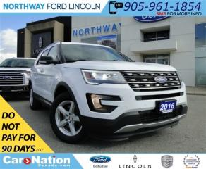 Used 2016 Ford Explorer XLT | 3RD ROW SEATING | REAR CAM | TOW PKG | for sale in Brantford, ON