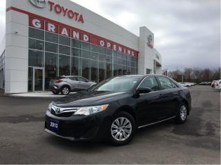 Used 2013 Toyota Camry LE WITH ALLOY & NAVI for sale in Pickering, ON