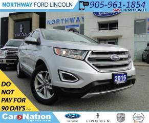 Used 2016 Ford Edge SEL | AWD | HEATED LEATHER | REAR CAMERA | for sale in Brantford, ON