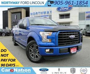 Used 2015 Ford F-150 XLT | REAR CAM | LOW KM | RWD | for sale in Brantford, ON
