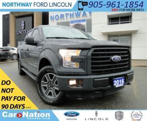 Used 2016 Ford F-150 XLT | SPORT | NAVI | REAR CAMERA | REMOTE START | for sale in Brantford, ON