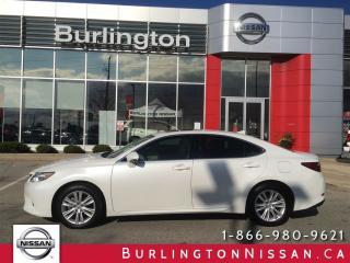 Used 2015 Lexus ES 350 NAVIGATION, 1 OWNER, ACCIDENT FREE ! for sale in Burlington, ON
