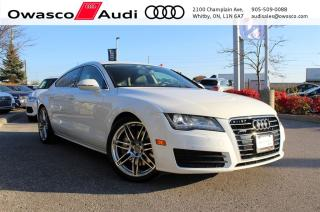 Used 2013 Audi A7 TFSI quattro S-line + Navigation Package for sale in Whitby, ON