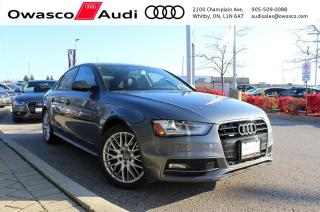 Used 2015 Audi A4 quattro Komfort w/ Heated Mirrors & Seats for sale in Whitby, ON