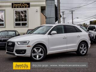 Used 2015 Audi Q3 Quattro Progressiv for sale in Ottawa, ON