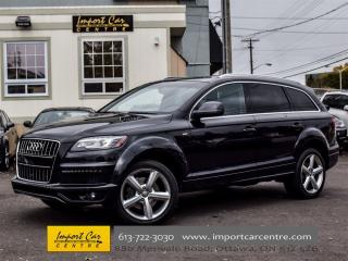 Used 2014 Audi Q7 Technik Sline Package for sale in Ottawa, ON