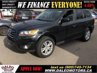 Used 2011 Hyundai Santa Fe GLS| BLUTOOTH |SAT RADIO| SUNROOF for sale in Hamilton, ON