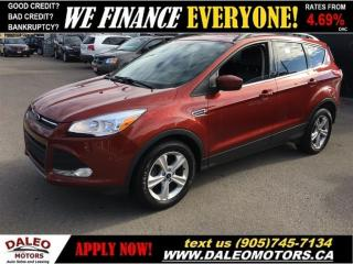 Used 2015 Ford Escape SE|HEATED SEATS|LEATHER|REAR CAM for sale in Hamilton, ON