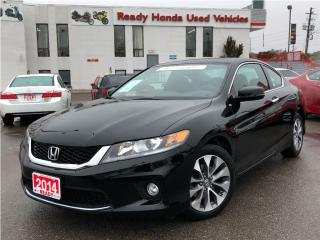 Used 2014 Honda Accord Coupe EX - Sunroof - Rear Camera for sale in Mississauga, ON