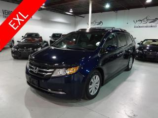 Used 2014 Honda Odyssey EX-L w/Navi Blind Spot Assist Navigation for sale in Concord, ON