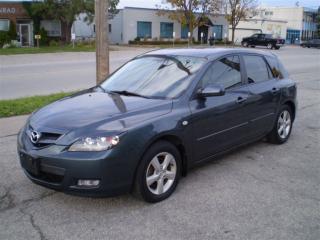 Used 2009 Mazda MAZDA3 Sport GX HATCHBACK! 5 SPEED! CERT! for sale in Etobicoke, ON