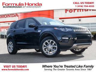 Used 2016 Land Rover Discovery Sport HSE | NAVIGATION | PRISTINE CONDITION! for sale in Scarborough, ON