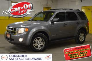 Used 2008 Ford Escape XLT V6 AWD LEATHER SUNROOF HEATED SEATS ALLOYS for sale in Ottawa, ON