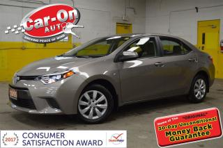 Used 2015 Toyota Corolla LE ONLY 21,000 km - LOADED for sale in Ottawa, ON