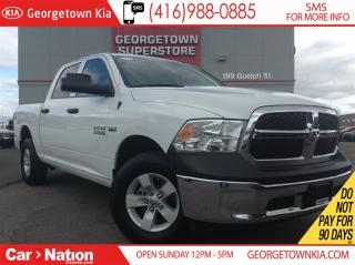 Used 2017 Dodge Ram 1500 SXT | CREW CAB | TOW GROUP | 4X4 | HEMI | XM for sale in Georgetown, ON