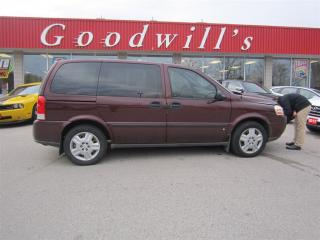 Used 2008 Chevrolet Uplander LS! SHORTY! LOW KM! WELL OILED! for sale in Aylmer, ON