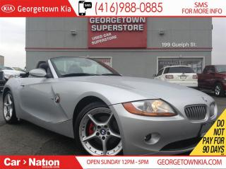 Used 2004 BMW Z4 3.0i   TOP DOWN   WHOLESALE TO THE PUBLIC for sale in Georgetown, ON