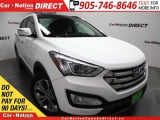 Used 2015 Hyundai Santa Fe Sport 2.0T Limited| AWD| NAVI| PANO ROOF| LEATHER| for sale in Burlington, ON