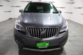 Used 2013 Buick Encore Convenience| AWD| LEATHER-TRIMMED SEATS| for sale in Burlington, ON