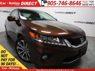 Used 2014 Honda Accord EX-L| NAVI| LEATHER| SUNROOF| LOW KM'S| for sale in Burlington, ON