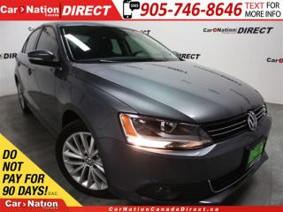 Used 2012 Volkswagen Jetta 2.5L Highline| LOW KM'S| LEATHER| NAVI| SUNROOF| for sale in Burlington, ON