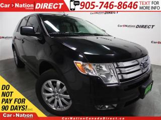 Used 2010 Ford Edge Limited| AWD| LOW KM'S| DUAL SUNROOF| LEATHER| for sale in Burlington, ON