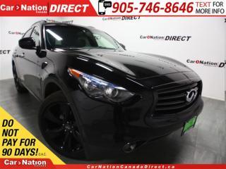 Used 2015 Infiniti QX70 Sport| AWD| NAVI| SUNROOF| LEATHER| for sale in Burlington, ON