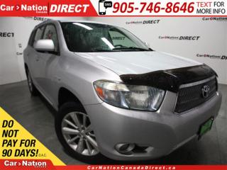 Used 2009 Toyota Highlander HYBRID Limited| AWD| NAVI| LEATHER| SUNROOF| for sale in Burlington, ON
