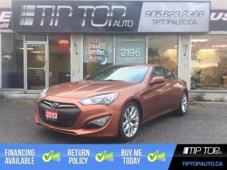 Used 2013 Hyundai Genesis Coupe 2.0T ** Nav, Moonroof, Bluetooth, Leather Interior for sale in Bowmanville, ON