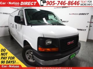 Used 2017 GMC Savana 2500 | LOW KM'S| WE WANT YOUR TARADE| OPEN SUNDAYS| for sale in Burlington, ON