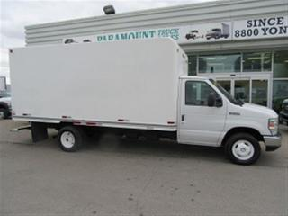 Used 2010 Ford E450 16 ft diesel cube van for sale in Richmond Hill, ON