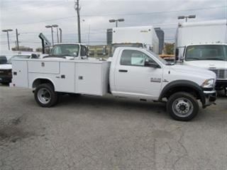 Used 2018 Dodge Ram 5500 HD Reg Cab 4x4 diesel with new 11 ft service box for sale in Richmond Hill, ON