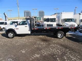 Used 2015 Dodge Ram 5500 Reg Cab 2wd diesel with new 16 ft flat deck for sale in Richmond Hill, ON