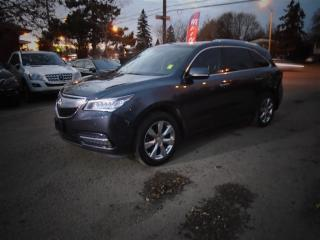 Used 2014 Acura MDX ELITE PACKAGE , TD/DVD for sale in Scarborough, ON