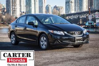 Used 2015 Honda Civic LX + LOW KMS! + BACKUP CAM + CERTIFIED! for sale in Vancouver, BC